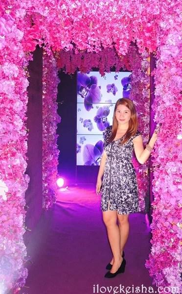 Kaye at the Lux Ball