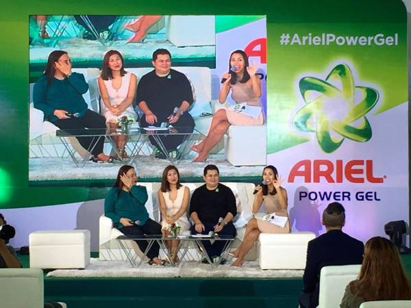 New Ariel Power Gel Launch Bianca Liz Darla