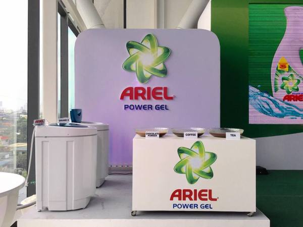 New Ariel Power Gel Launch Test