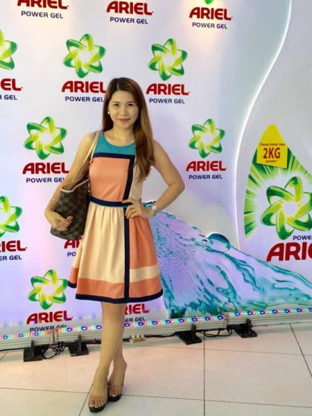New Ariel Power Gel Launch