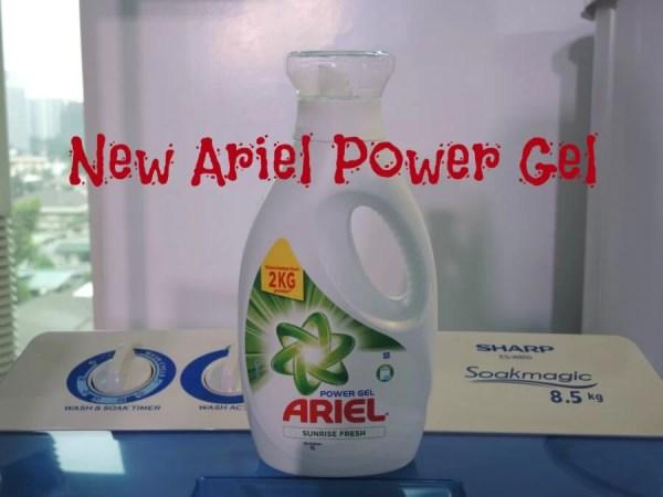 New Ariel Power Gel Sunrise Fresh