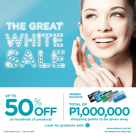 The Great White Sale_Promo