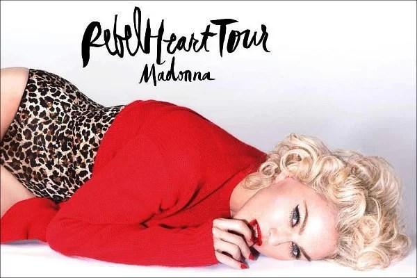 madonna rebel heart tour photo