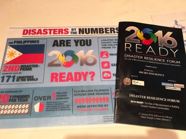 Disaster Resilience Forum Cebuana Lhuillier 2