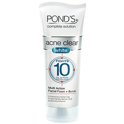 Ponds Acne Clear White Foam
