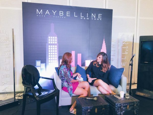 Georgina Wilson at Maybelline Event