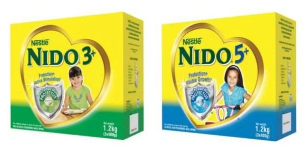 Nido 3+ and 5+