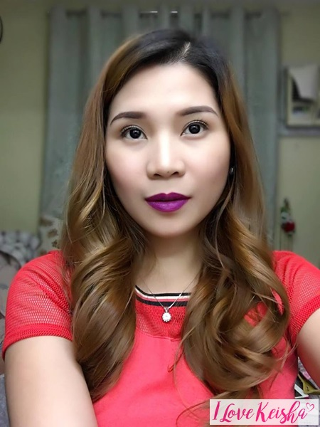 Maybelline Creamy Mattes Review Vibrant Violet