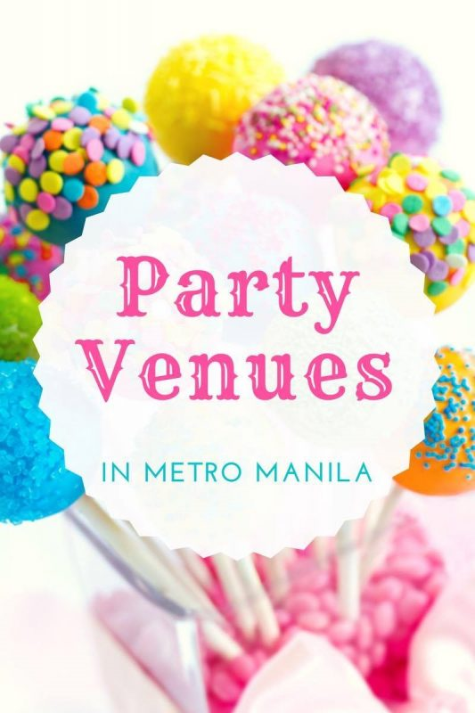 List of Party Venues in Metro Manila