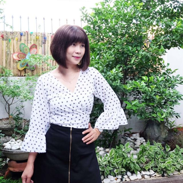 Grateful everyday Wrap top and skirt from kaleishacollection