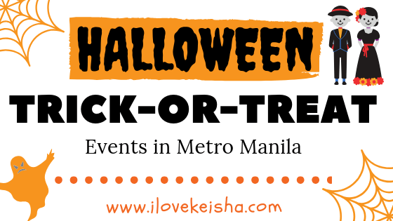 2018 List of Halloween Trick-or-Treat Events in Metro Manila