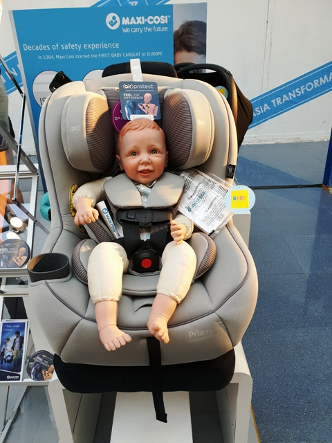 Baby Company Buckle Up Baby Drive Promotes Child Passenger Safety