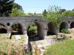 The old bridge of Potamos