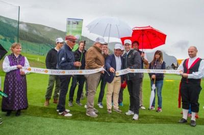 inaugurazione a livigno golf training area