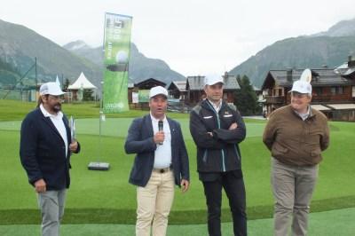 inaugurazione a livigno golf training area3