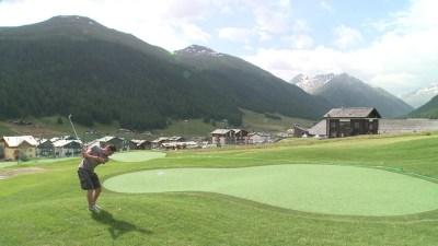 livigno golf training area 4
