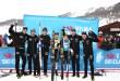 A Livigno 'Lager 157' ringrazia Britta J.Norgren, Team Koteng e Bauer sul podio Visma Ski Classics