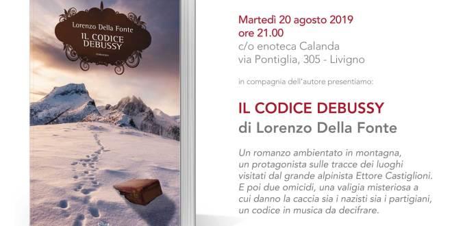 """Presentazione libro """"Il Codice Debussy"""" di Lorenzo Della Fonte"""