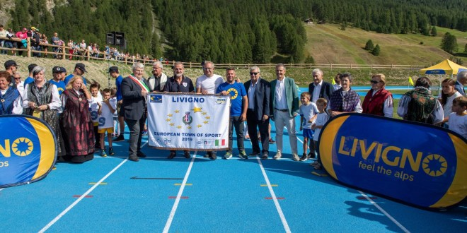 Livigno: The Games start now, la pista di atletica corona un sogno
