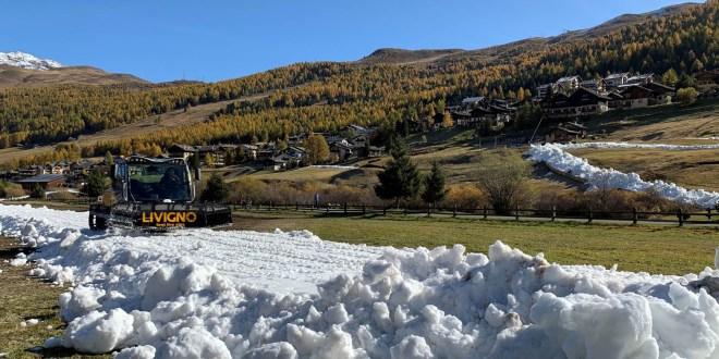 Livigno scia dal 19 ottobre, anello di fondo quasi pronto e azzurri subito presenti