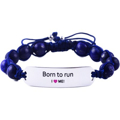 Born To Run - Marine Blue Lazurite Bracelet