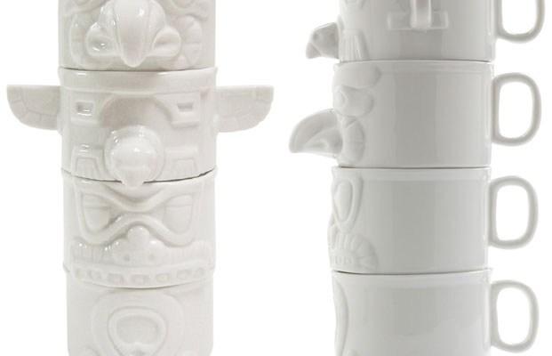 Imm Living Totem Cups Coffee Mugs