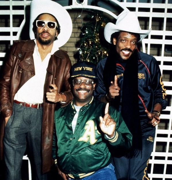 The Gap Band in London. December, 1983. ©ÊRay / Retna UK
