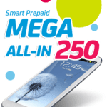 Smart Prepaid MEGA250 Unli Call & Text Promo