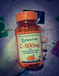 Puritans Pride C-500mg with Rose Hips Review