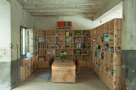 Dale un toque nuevo a tu oficina con palets i love palets - Cuanto cuesta un palet de madera ...