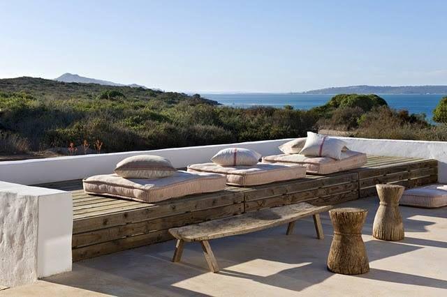 10 terrazas con encanto con muebles de palets i love palets - Muebles para terrazas exteriores ...