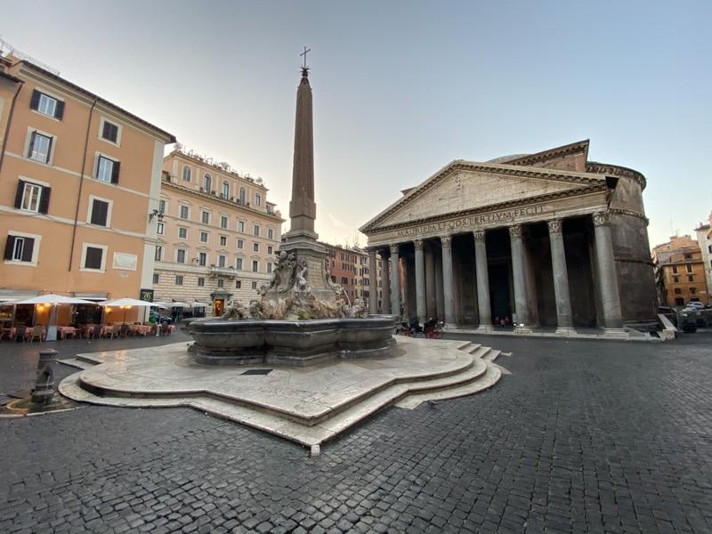 Pantheon aan Piazza della Rotonda