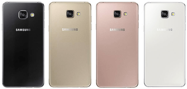 Samsung Galaxy A5 (2016) – Disponibilitate Culori