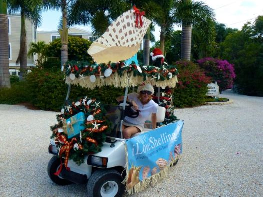 golf cart christmas decorating ideas