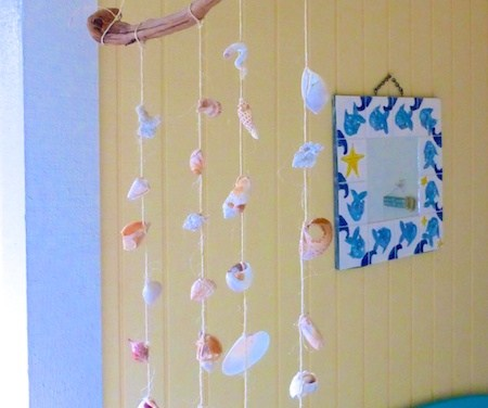 How To Make An Easy Sanibel Island SeaShell Mobile