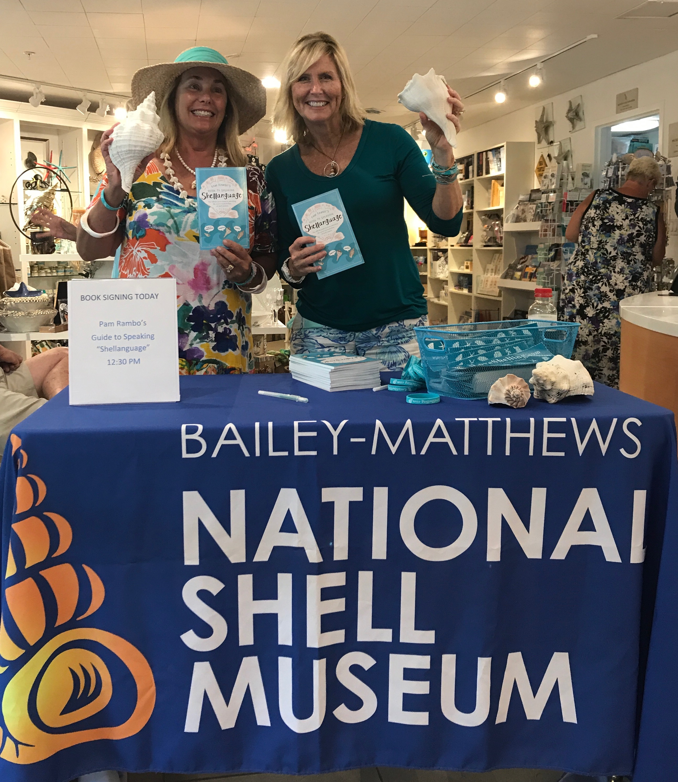 National Shell Museum With My New Guide To Speaking Shellanguage Book  Signing And Hanging Out With How To Eat Fried Worms