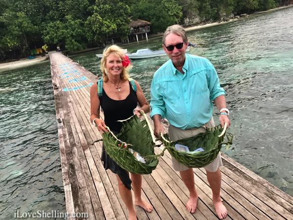 Solomon islands Pam and Clark Rambo Shell n Tell