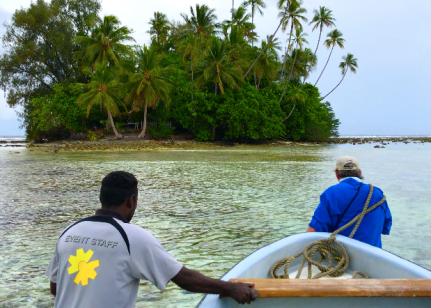 shallow boating solomon islands