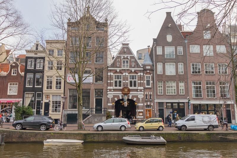 Beeldbank Amsterdam: Grachtenpanden aan de Herengracht