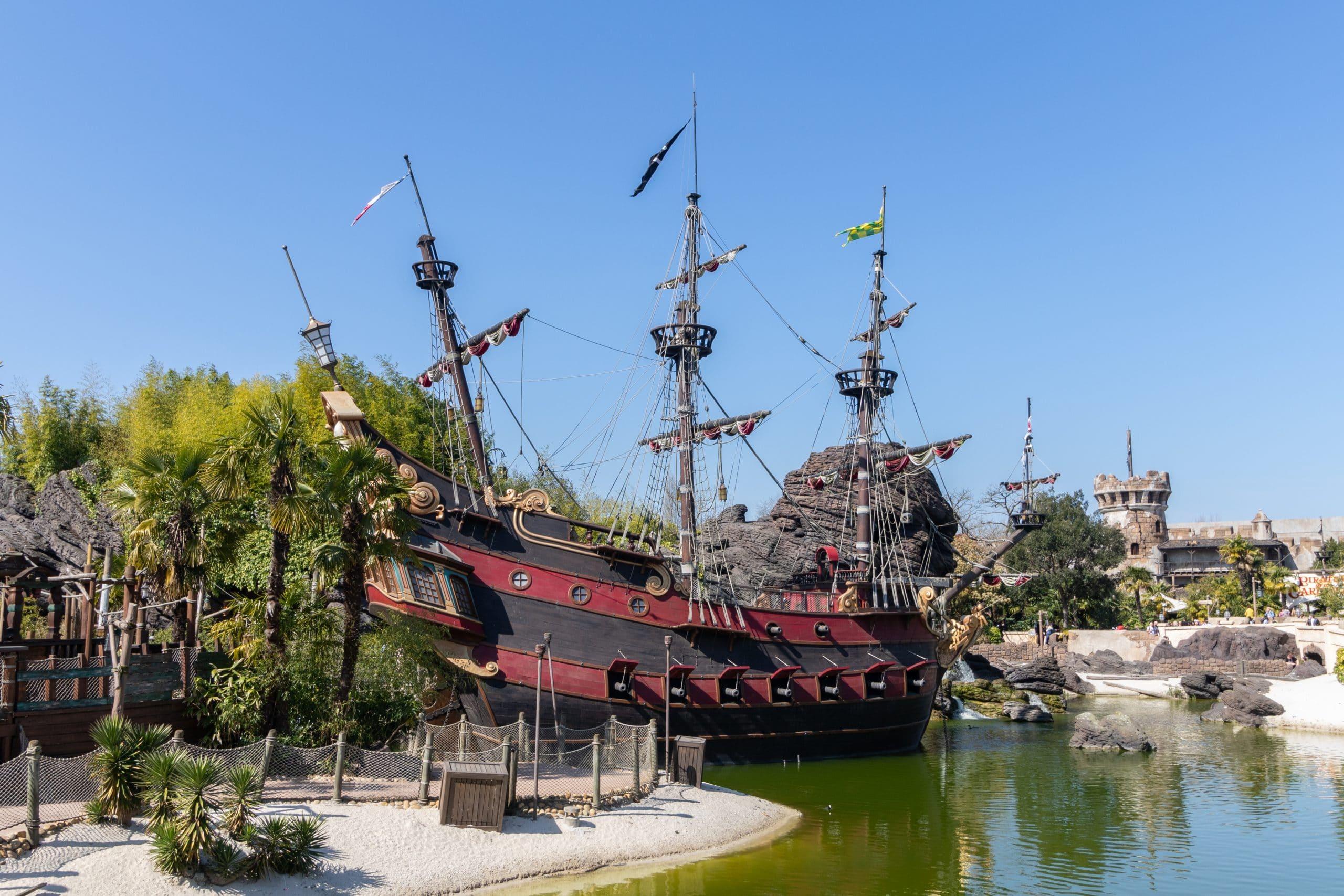 Piratenschip Kapitein Haak
