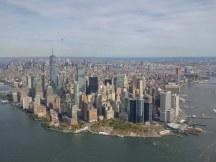 Manhattan New York Luchtfoto