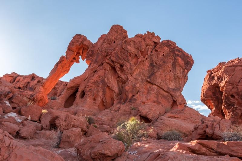 Elephant Rock Valley of Fire (AZ)