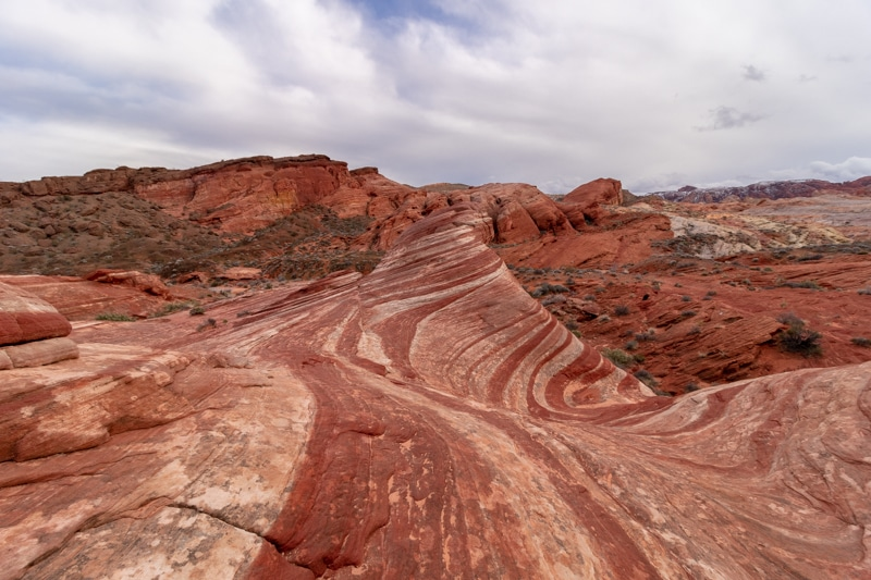 Fire Wave in the Valley of Fire (AZ)
