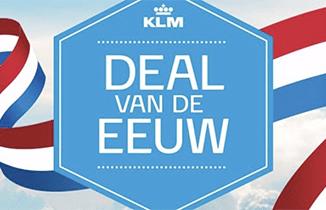 KLM Deal van de eeuw