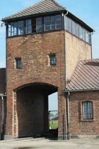 Auschwitz Birkenau ingang