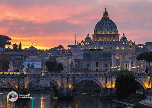 Ansichtkaart Rome A001