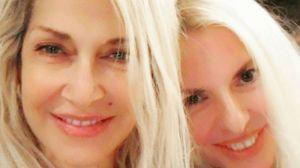 Άννα Βίζη – Αννίτα Πάνια.  Δείτε πώς γιορτάζουν μαζί το όνομα τους