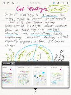 Bamboo Paper : Wacom propose une application de prise de notes pour iPad 6