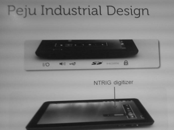 Dell Peju : Une nouvelle tablette sous Windows