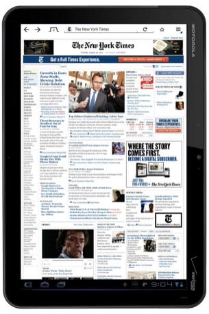 Firefox pour tablettes tactiles Android disponible en test 3